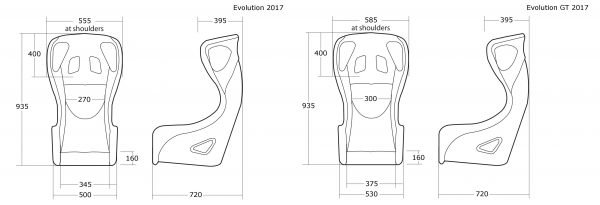 Cobra Evolution T Dimensions